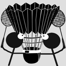 火柴人打羽毛球中文版游戏图标